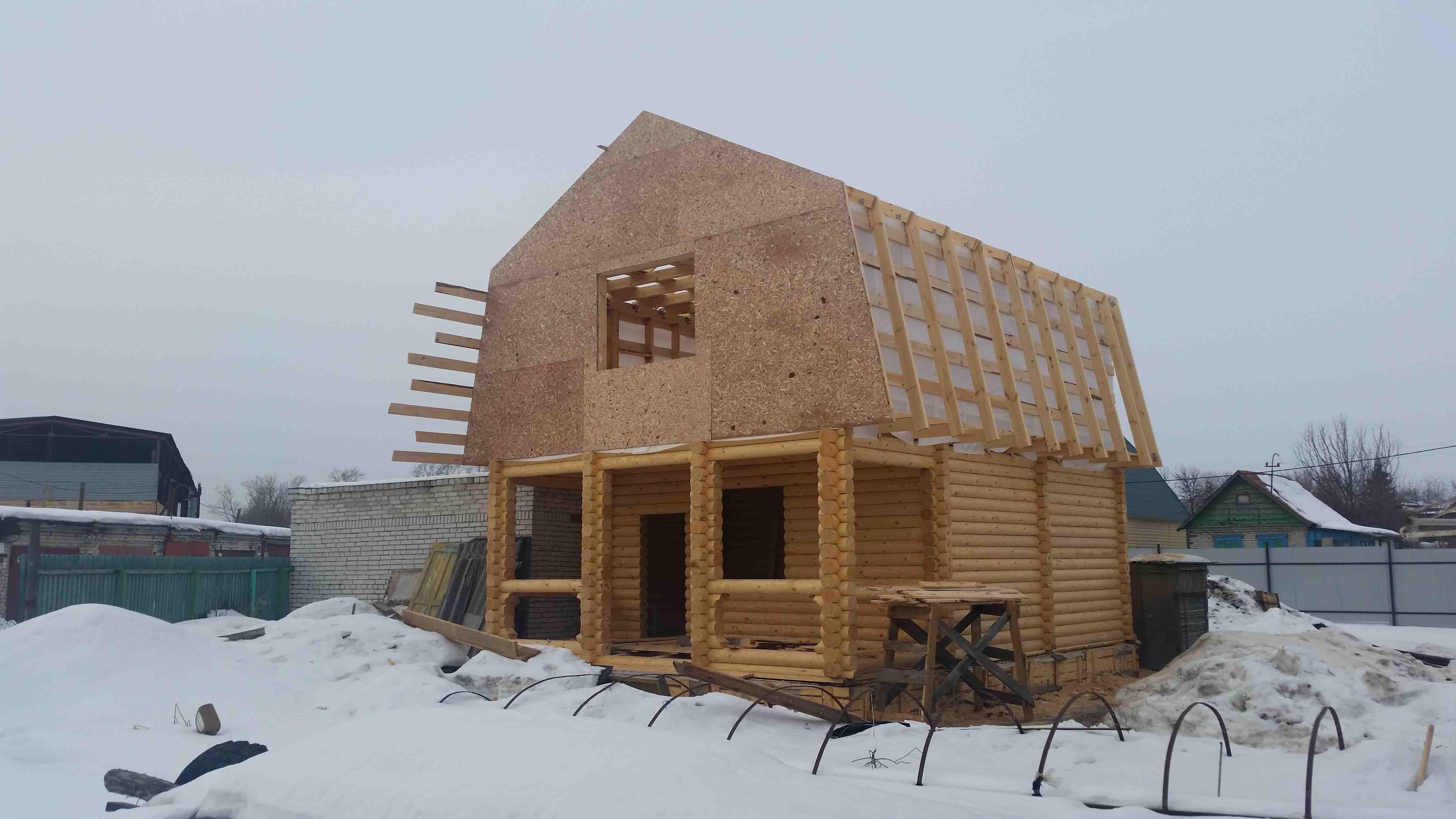 Деревянный дом в Тюмени построить