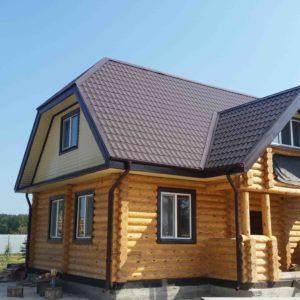 Построить дом из бревна в Тюмени