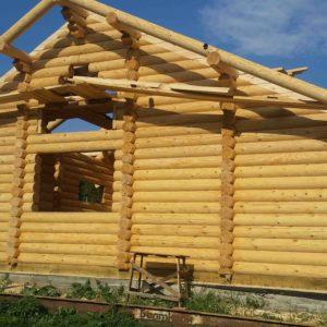 Строительство дома из бревна в Тюмени