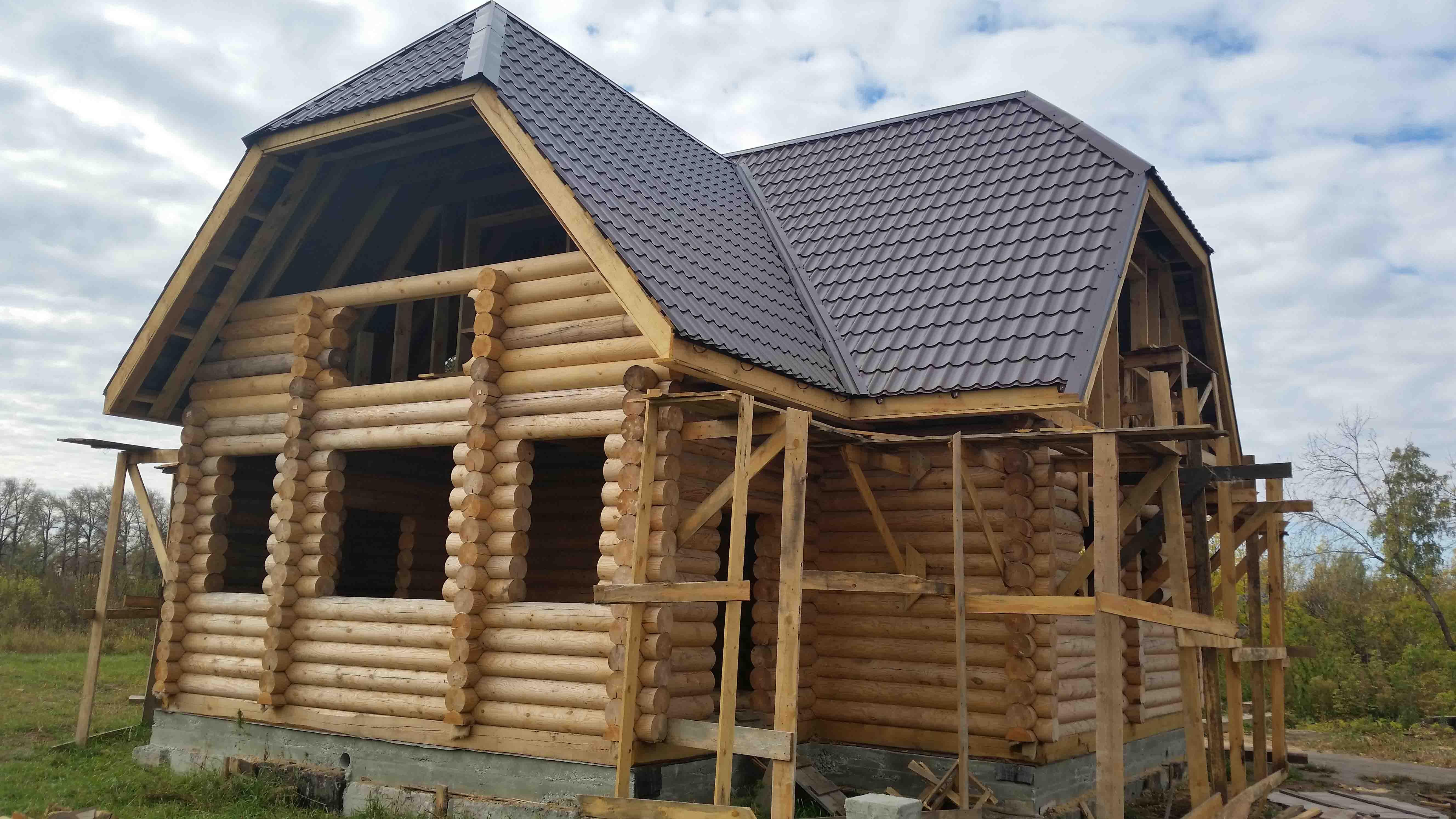 Строительство дома из сруба в Сургуте