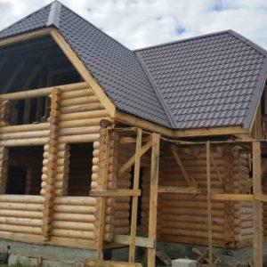 Строительство дома из сруба в Тюмени