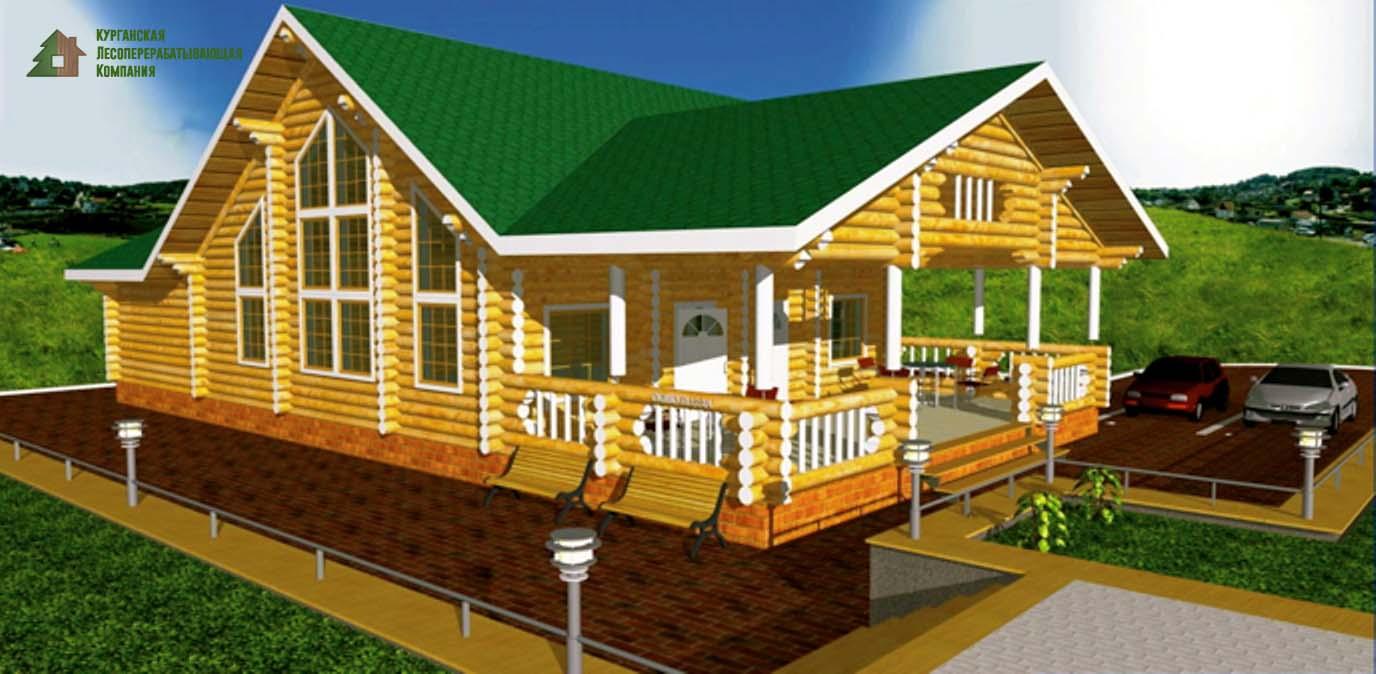 Построить деревянный ресторан