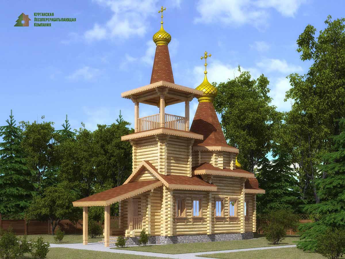 Построить церковь из дерева
