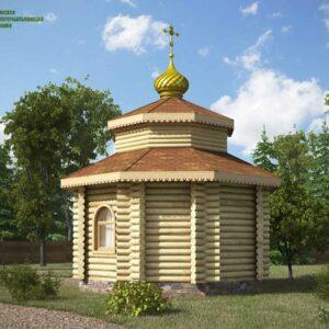 chasovnya_iz_brevna_proekt_11_(vid_3)