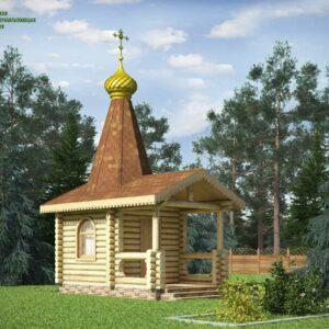 chasovnya_iz_brevna_proekt_12_(vid_1)