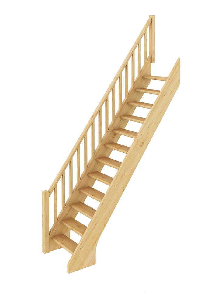 Лестница прямая 001