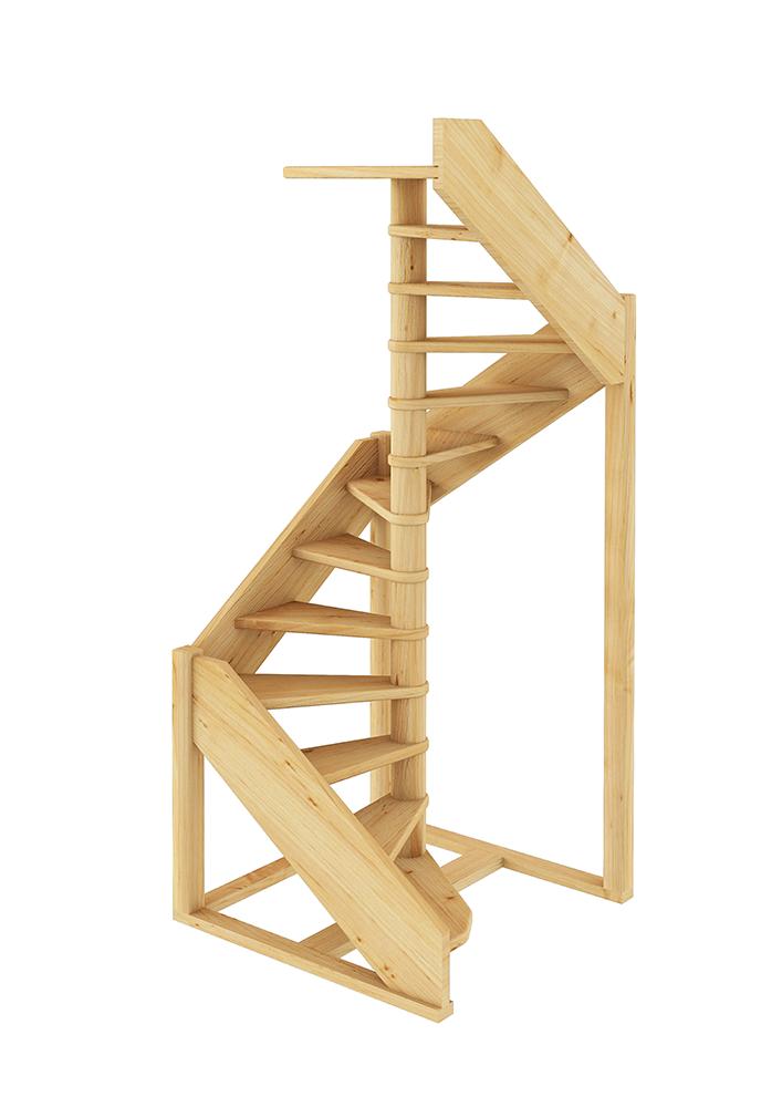 Лестница винтовая 001