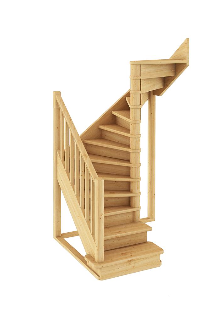 Лестница П-образная 001