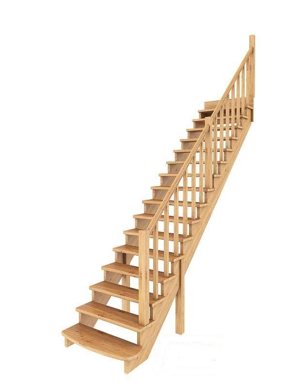 Лестница прямая 002
