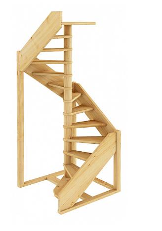 Лестница винтовая 002