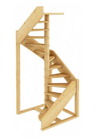 Лестница винтовая 003