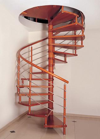 Лестница винтовая 005