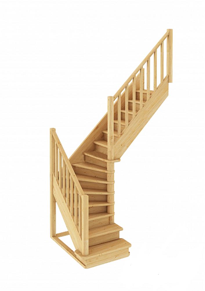 Лестница Г-образная 001