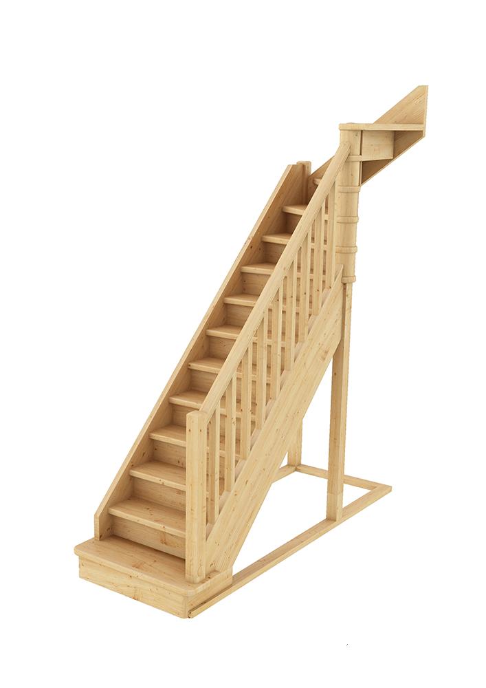 Лестница Г-образная 002