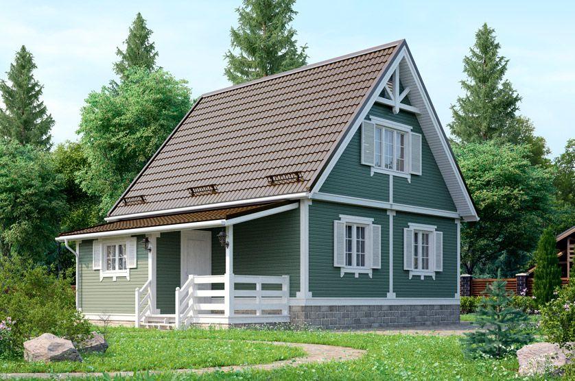 Дачный дом 001