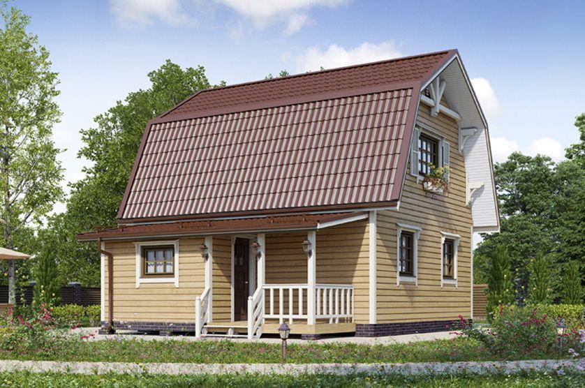 Дачный дом 002